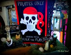 Pirates rule this Halloween, all others will walk the plank!
