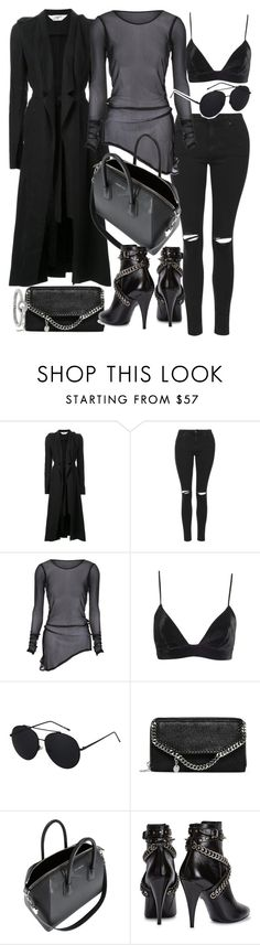 """""""Untitled #19763"""" by florencia95 ❤ liked on Polyvore featuring Kitx, Topshop, STELLA McCARTNEY, Givenchy, Yves Saint Laurent and Acne Studios"""