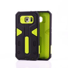 Hybrid Shockproof Rugged Rubber Hard Cover Case Skin for Samsung Galaxy 6