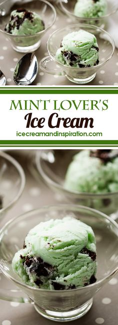 Want an amazing mint ice cream recipe? Make this Mint Lover's Ice Cream using peppermint essential oil. The best Mint Oreo Ice Cream you