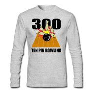 Feel free to add some text to this stylish Men's Ten Pin Bowling Long Sleeve T-Shirt.