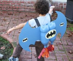 DIY Bat-Themed Jetpack. - oh wow love this! MIGHT GIVE IT AGO, IM SURE I'LL HAVE TWO LITTLE DELIGHTED BOYS AND I'LL BE FAVORITE FOR EVER!