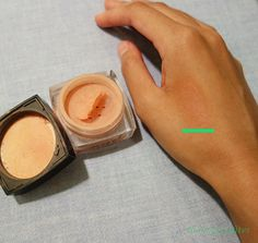 DEVITA'S- ABSOLUTELY BLUSHED IN THE COLOR- TENDER BLUSH swatch -  ...I know this blush will last me a long time, and I cannot wait to try Devita's other blush colors come fall and winter time!