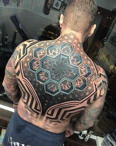 My Most Favorite Geometric Tattoo Back Tattoos, Great Tattoos, Sleeve Tattoos, Tattoos For Guys, Tatoos, Bodysuit Tattoos, Unique Tattoo Designs, Tattoo Designs For Women, Backpiece Tattoo