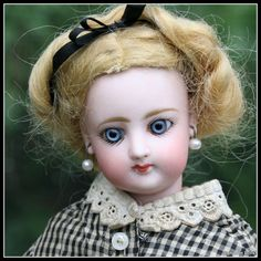 """Diminutive 11"""" French Fashion Doll by Francois Gaultier"""