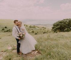 Wedding, love, bride, groom, dress, wedding dress, lavanda, forest, sea, nature, European wedding, невеста, жених, suit, groom's suit, bride's dress