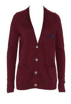 A snuggly cardi for winter, love this colour. Peter Alexander classic cardi.