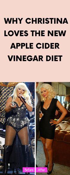 Why Christina Loves the New Apple Cider Vinegar Diet