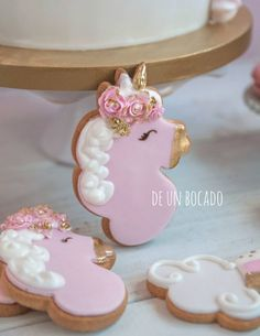 Galletas de unicornios /unicorn cookies