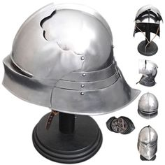 Reprod. German Sallet with visor & articulated tail c. 1480