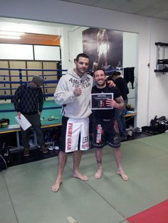 Graduated to teach M.M.A. by Alessio Sakara Ufc  Fighter