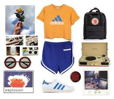 """""""39. out and about"""" by cherry-boy ❤ liked on Polyvore featuring Louis Vuitton, Camp Collection, adidas Originals, adidas, Crosley, Fjällräven, Urban Outfitters, men's fashion and menswear"""