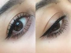 Eyeliner Tattoo: All You Need To Know – My hair and beauty Semi Permanent Eyeliner, Permanent Makeup Eyebrows, How To Apply Eyeliner, No Eyeliner Makeup, Eyeliner Brands, Eyeliner Styles, Eyeliner Tattoo, Makeup Tattoos, Make Up