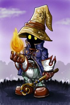 Vivi the Black Mage by Evolvana on deviantART