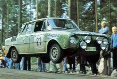 Markku Saaristo & Ilkka Saaristo - Skoda 120 S - Rallye des 1000 Lacs 1973 Rally Drivers, Rally Car, Sport Cars, Race Cars, Rallye Automobile, Rallye Wrc, Flying Car, Car Makes, Car And Driver