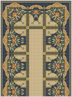 Cross Stitch Borders, Cross Stitch Designs, Cross Stitching, Cross Stitch Patterns, Diy Embroidery, Cross Stitch Embroidery, Chart Design, Tapestry Crochet, Needlepoint