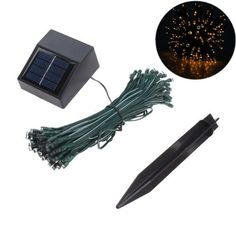 IMAGE® 100 LED Solar Power String Light for Christmas Party Celeration Occassions (Waterproof, White, 55 Feet) Solar Fairy Lights, Solar String Lights, Light String, Christmas Garden, Outdoor Christmas, Christmas Wedding, Christmas Birthday, Christmas Lights, Wedding Lighting Indoor