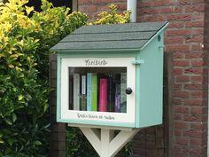 Minibieb in Schipluiden. Hier kan je boeken lenen, ruilen of achterlaten. Zo kunnen we van elkaars boeken genieten.
