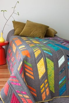 Image of Feathers Quilt KIT