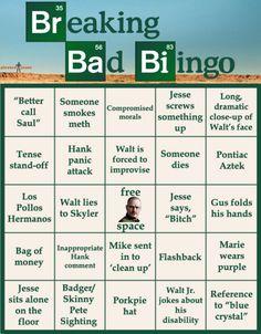 Breaking Bad Bingo