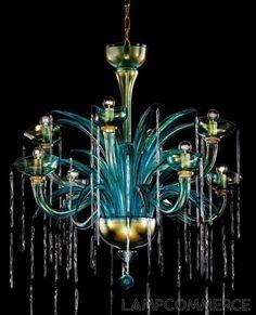 De Majo Tradizione Acqua K8 hanging lamp Lights & Lamps - LampCommerce