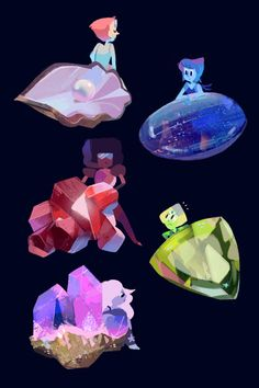 Gems with their gems