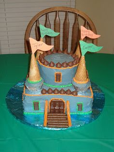 Cakes by Cami: Castle Cake