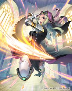 Battle Sister Cookie - Oracle Think Tank - Image - Zerochan Anime Image Board Character Concept, Character Art, Character Design, Manga Art, Manga Anime, Elf Characters, Cardfight Vanguard, Thing 1, Hero Girl