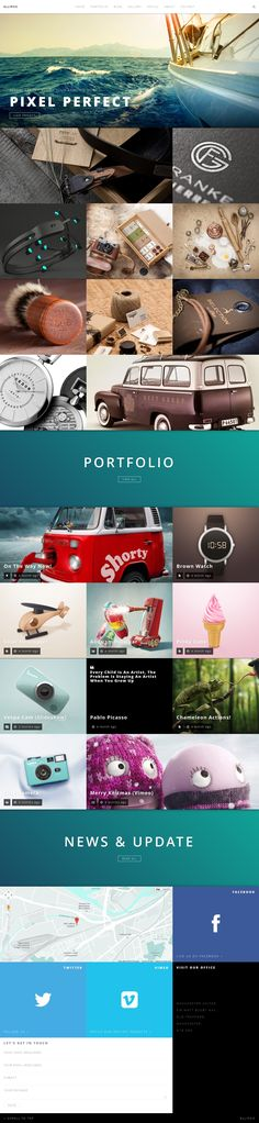Ellipsis - Fullscreen HD Portfolio WordPress Theme #wp #web #design