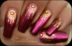 bollywood nail art - Google Search
