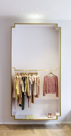 Boutique Maje - Paris / Shop Maje in Paris design by Agnès Cambus & Manuel Bonnemazou http://www.element-s.fr/