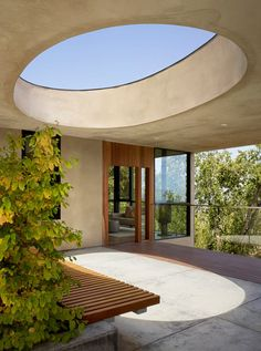Overlook Guest House by Schwartz and Architecture (Skylight) Casas California, California Homes, Outdoor Spaces, Outdoor Living, Indoor Outdoor, Architecture Photo, Modern Architecture, Windows Architecture, Gazebo