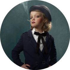 wow... the pics from this shoot are amazing.    http://randommization.com/2011/12/26/glamour-shots-of-smoking-kids/
