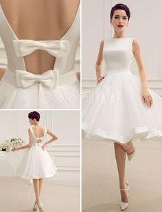 Beyaz-Mini-Etekli-Nikah-Elbisesi-Modelleri-19.jpg (736×968)
