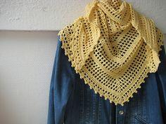 Ravelry: fanalaine's Spring Cotton Shawl