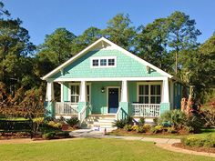 The Seaside Cottage at Ocean Isle Beach by Cardinal Builders, NC.