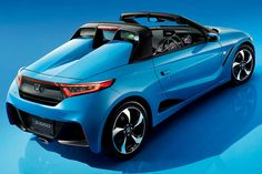 """Car: HONDA: S660: Photos from the new model presentation of S660 (via Japan web car media """"Car Watch"""") Part 2: official photos and specs. (http://car.watch.impress.co.jp/docs/news/20150330_695122.html) [Images] Honda, """"minds to be passionate [Heart beat sports] S660"""" - Car Watch / An imagine of small bullets 'ENERGETIC BULLET"""" is the keyword of appearance design."""