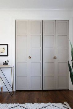 Find painted door hacks and diy ideas for ugly interior doors. Check out these DIYs to hack your ugly interior doors. From painted to taped to wallpapered and everything in between, find a solution for an ugly interior door on domino.
