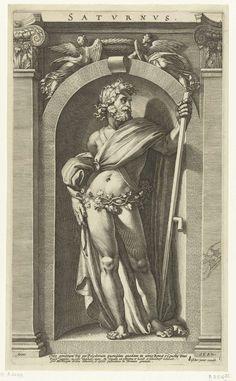 Saturnus, Hendrick Goltzius, 1592