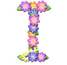 """""""Pastel Floral"""" Free Scrapbook Alphabet in JPG and PNG I will be printing these out and using Modge Podge to paste them to blocks fo. Flower Alphabet, Flower Letters, Monogram Letters, Minnie Png, Alphabet Wallpaper, Alphabet And Numbers, Alphabet Letters, Alphabet Fonts, Letter I"""