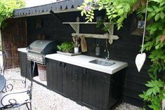 Our beautiful outdoor kitchen. Our beautiful outdoor kitchen. It has turned out exactly as we had in mind. Outdoor Cabana, Outdoor Fire, Outdoor Decor, Parrilla Exterior, Pantry Inspiration, A Frame House Plans, Patio Grill, Outdoor Living Rooms, Luxury Tents