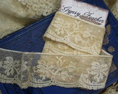 Vintage French Scalloped Lace