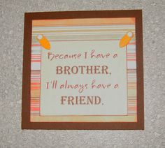 Magnet Brother Quote Fridge File Cabinet by CreativeDesigns, $2.00