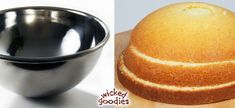 How to Make a Half Sphere Cake - Wicked Goodies Cake Decorating Icing, Birthday Cake Decorating, Cake Filling Recipes, Cake Recipes, Demi Sphere Chocolat, Pokeball Cake, Belly Cakes, Make Birthday Cake, Cake Shapes