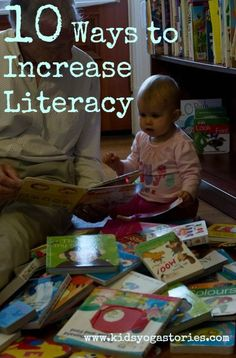 What We Can Do About Illiteracy - Kids Yoga Stories