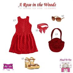Kat Rose Fashion Head To Toe: A Rose in the Woods