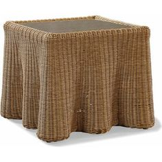 Lane Venture Celerie Wicker Rattan Side Table Size 19 Quot H