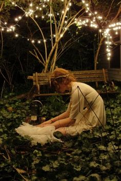 fairy lights are magical All Nature, Fairy Lights, Faeries, Character Inspiration, Story Inspiration, Fairy Tales, Art Photography, Vintage Photography, Retro Vintage