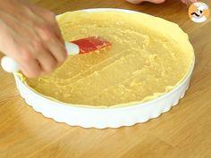 Tarte amandine aux poires, ou la célèbre bourdaloue, Recette Ptitchef Peanut Butter, Quiches, Biscuits, Desserts, Pizza, Cake, Food, Butter, Dessert