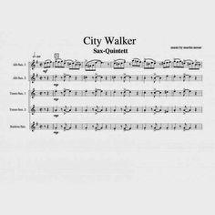 """City Walker"" 5 Saxophone"